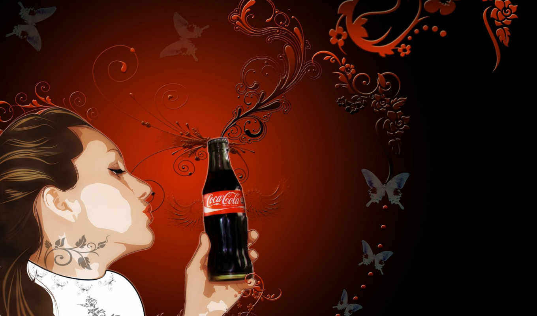 cola, art, coca, кокс, просмотров, автор,