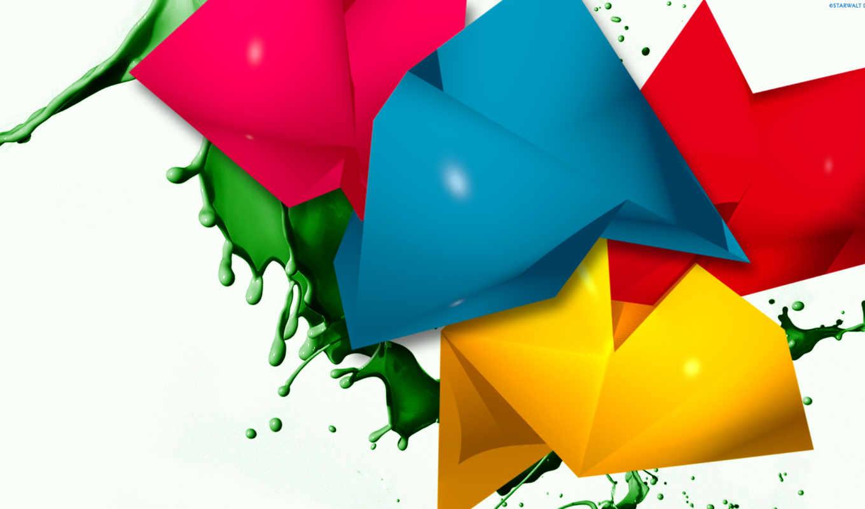 abstracto, colores,