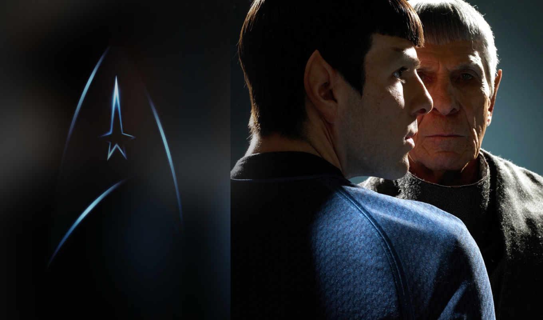 spock, kirk, trek, star, fem, best,