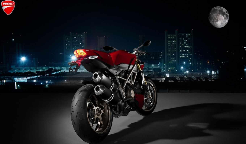 psp, ducati, город, кб, мотоциклы, ночь,