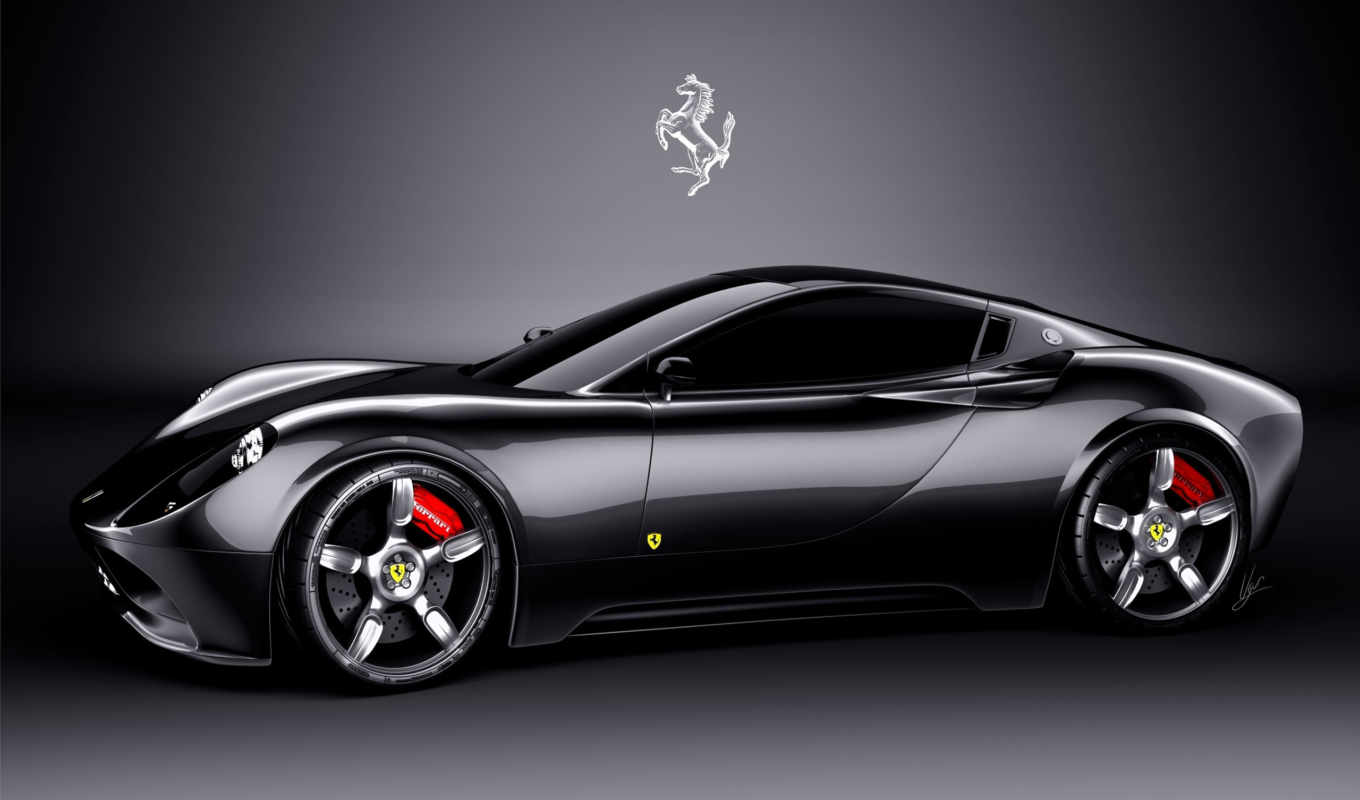 ferrari, concept, full, cars,