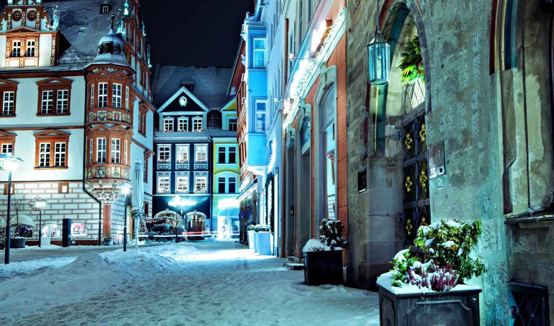 cityscapes, ночь, amazing, улица, германия, количество,
