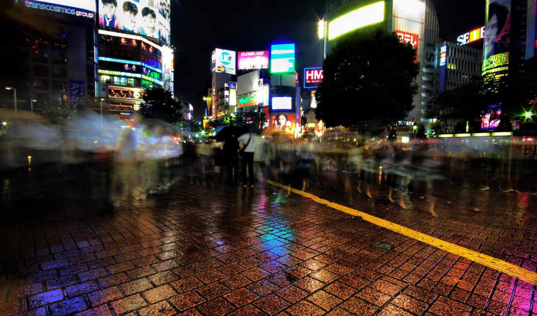 ночь, shibuya, like, shot, отлично, watertower, hdr,