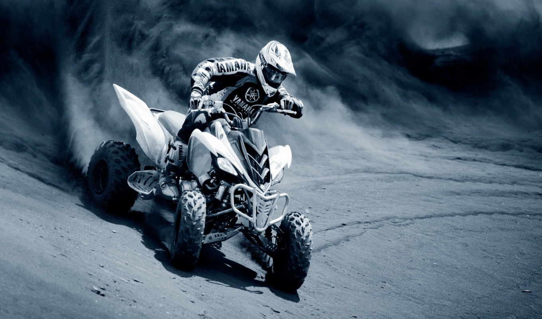 обои, квадроцикл, гонщик, грязь, фото, спорт, мото