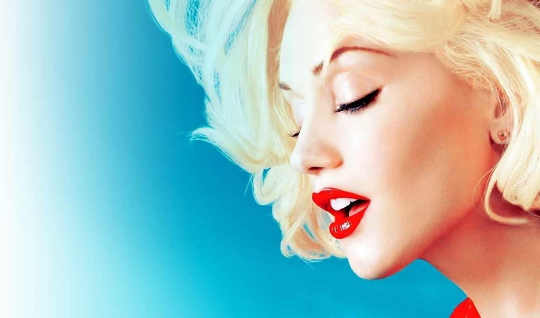 stefani, gwen, певица, губы, max, музыка, картинка, стефани, блондинка, картинку,