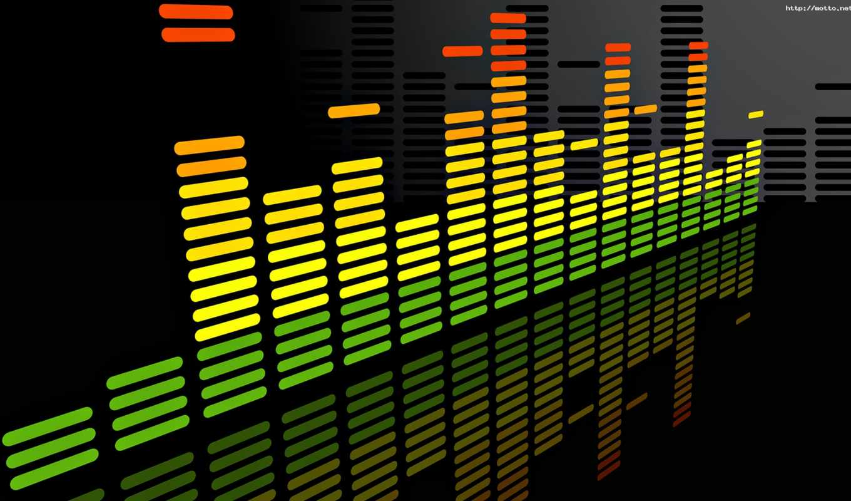 equalizer, colorful, музыкальные,