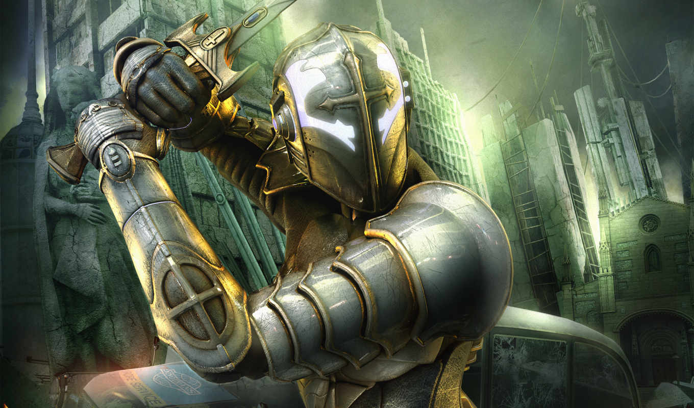 рыцарь, игры, hellgate, london, военные,