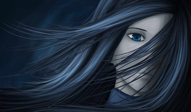 грустный, девушка, anime, free, fantasy, abstract,