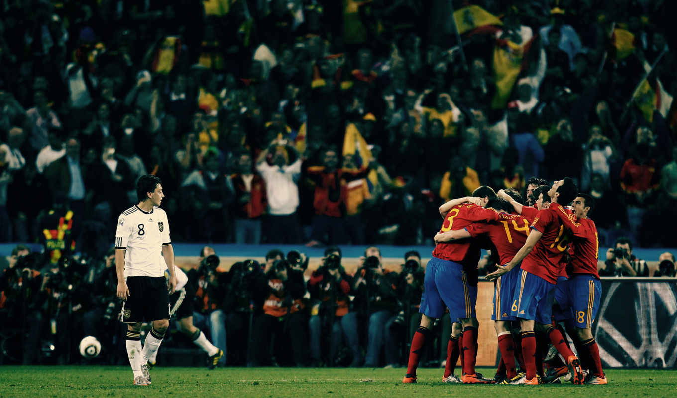 germany, world, quality, sports, national, team, football, spain, crowd, photographers,