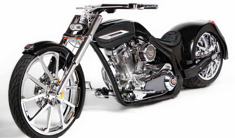 ford, motorcycle, мотоциклы, тюнинг, вилка, двигатель, уникальность, рама, байк, колеса, черный, руль, белый,