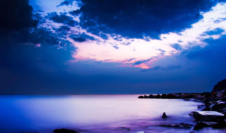 природа, высокого, ocean,