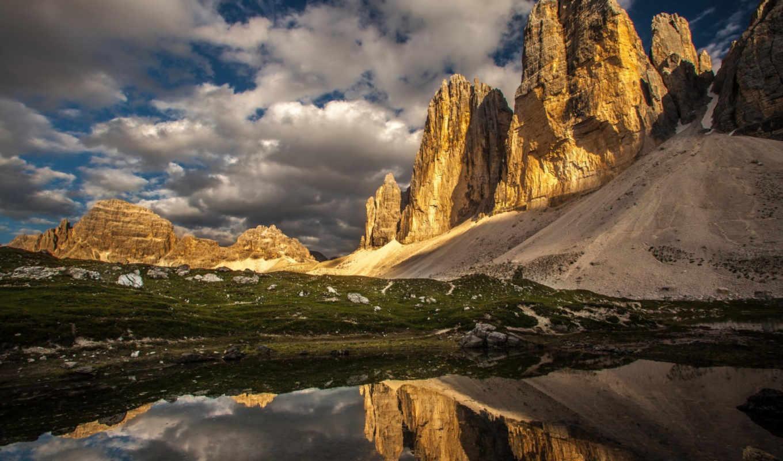 ozero, горы, priroda, озеро, zakat, природа, пейзаж, mountains,