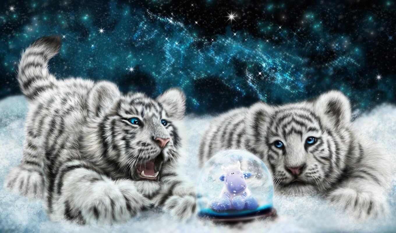 коллекция, тигры,