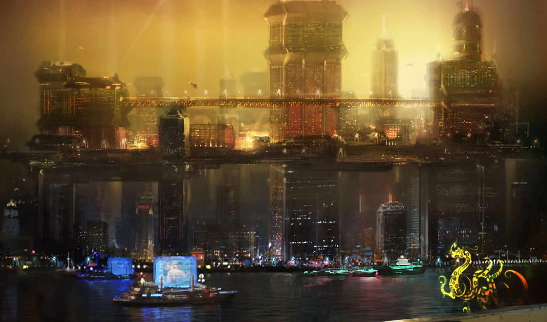 deus, revolution, human, concept, игры, скриншоты,