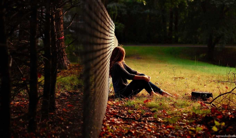 девушка, поле, настроение, story, забор, которая,