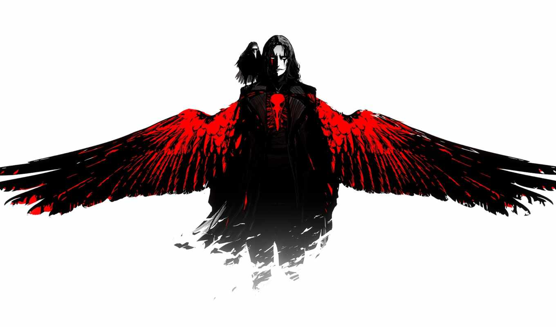 ворон, сниматься, ворона, black, art, парень, arsenxc, крылья, фильма,