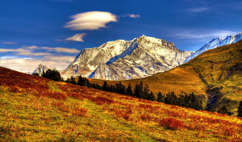 фотографии, графика, уровень, небо, природа, осень,