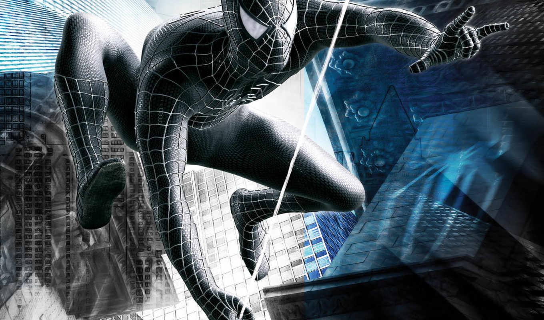 мужчина, паук, enemy, отражении, game, video, часть,
