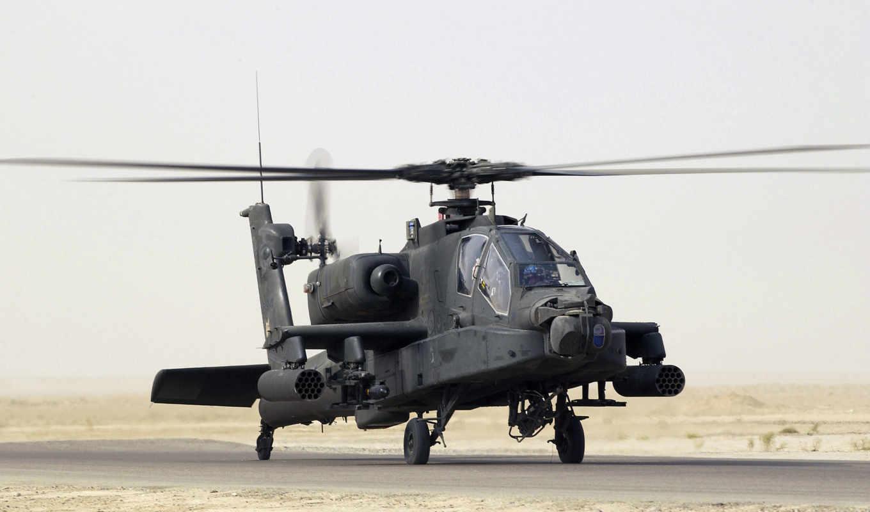 apache, ah, вертолет, картинка, авиация, avia,