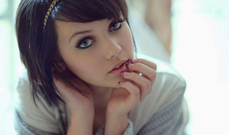 девушки, милые, красивыми, глазами, будет, милая, девушке,