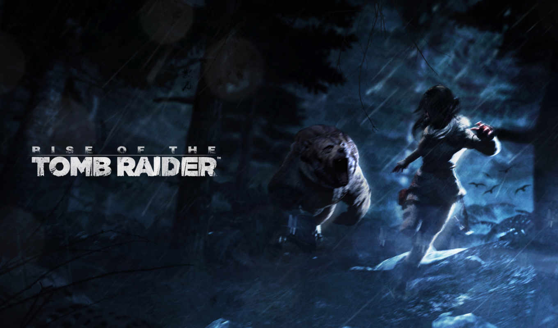 tomb, raider, взлёт, лара, игры,