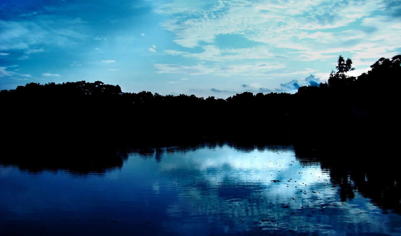 природа, blue, небо,
