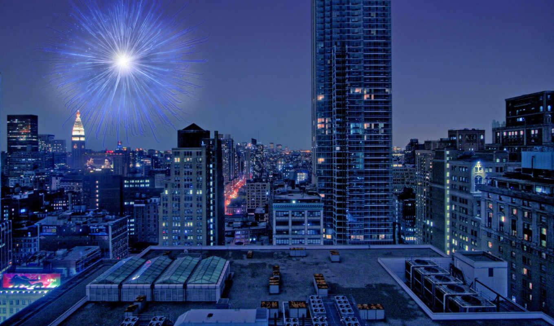 город, ночь, взгляд, buildings, окно, небоскрёб, skyscrapers, hong, kong, chicago,