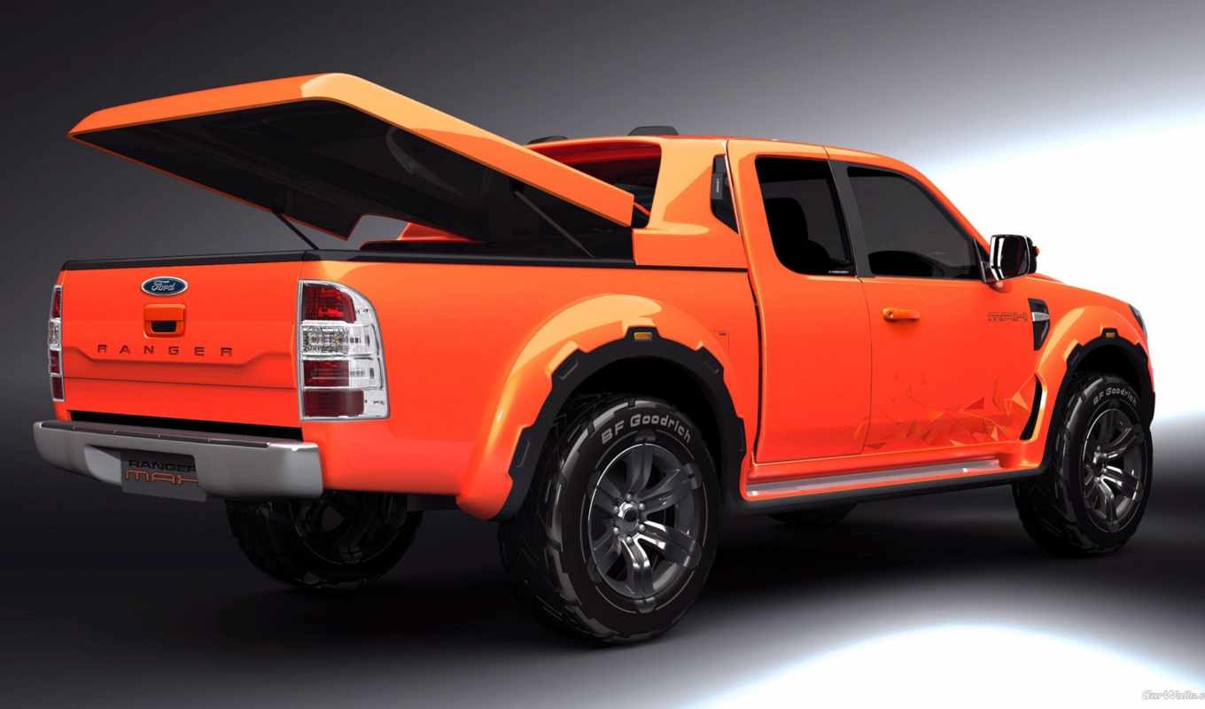 ford, ranger, max, concept, зжґ, photo,