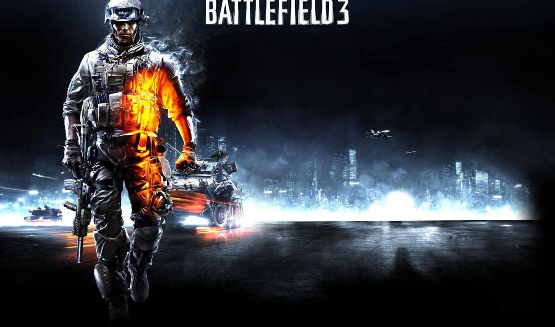 battlefield, солдат, танки, поле, сражений, боец, ea, games, картинку,