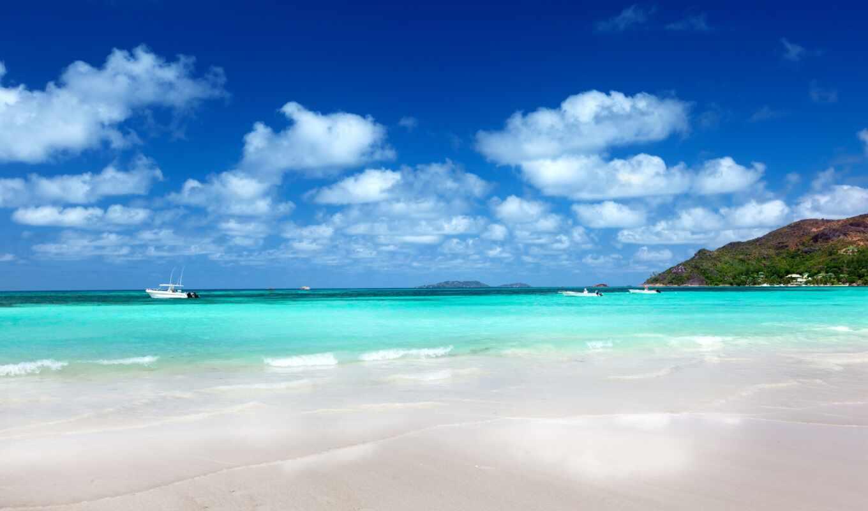 природа, небо, облака, пейзаж, песок, пляж, побережье, море,