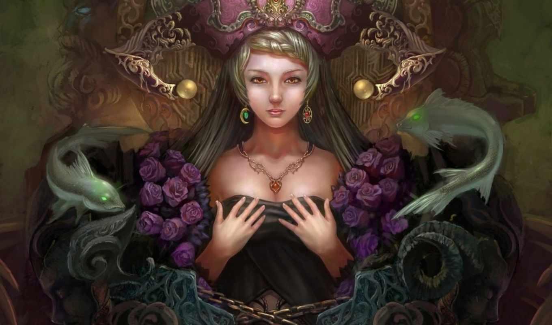 fantasy, арт, девушка, фэнтези,