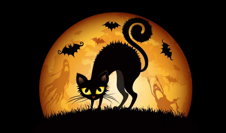 фэнтези, кот, мыши, природа, широкоформатные, эротические, графика, кошки,