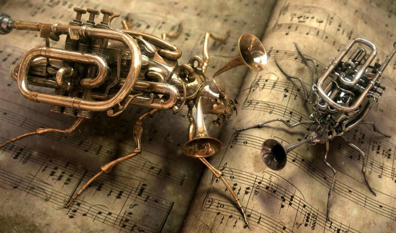 музыка, ноты, classic, sound,
