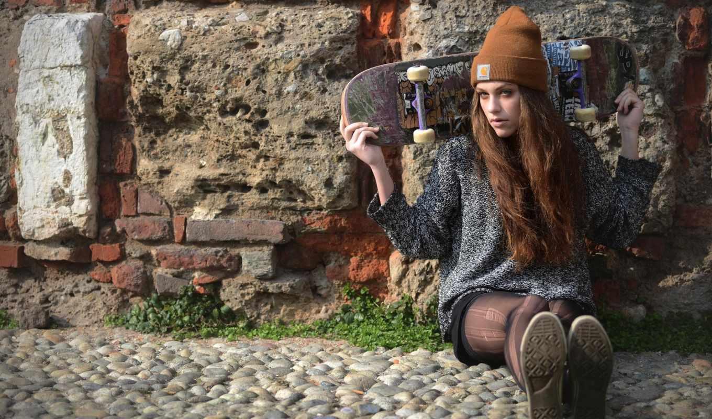 шапка, skateboard, стена, модные, картинка, шапки, smrigova, winter, сезона, зузана,
