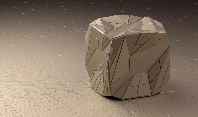 куб,обои, фото, грани, линии,