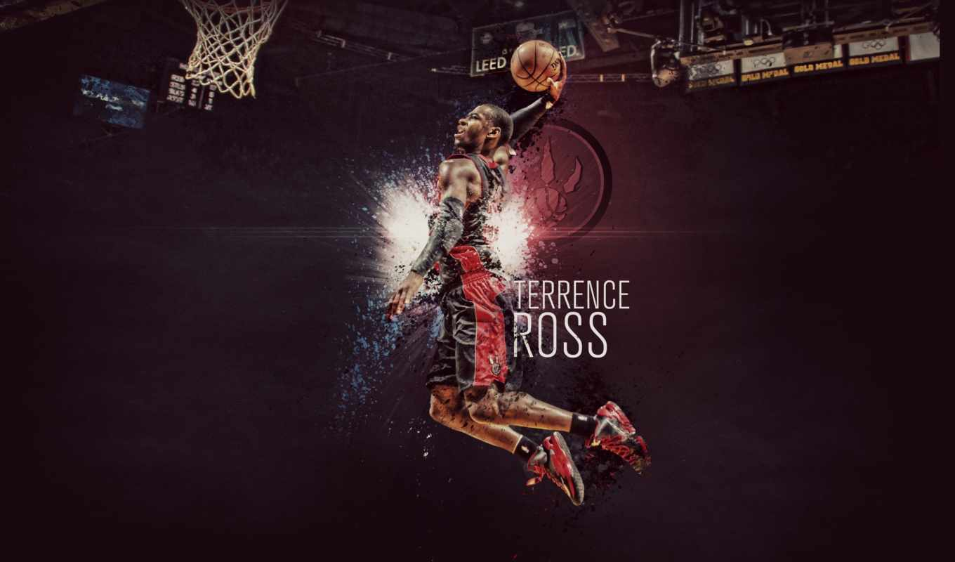 terrence, ross, raptors, toronto, nba, slam, терренс, спорт, баскетбол,