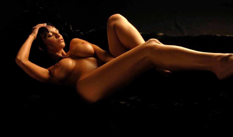 эротика, девушка, разных, разрешениях, массажа, диване,