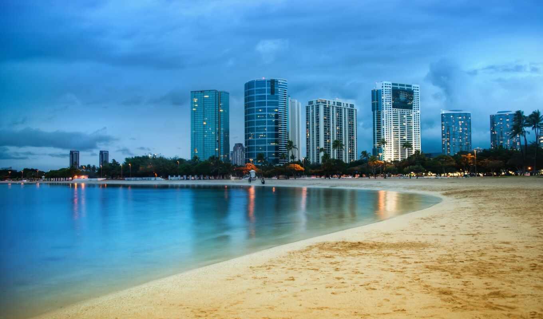miami, город, побережье, сша, фотоаппарат, web, пляж