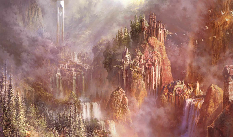 eternity, aion, games, tower, óîï, computer, fantasy, kids, mystery, like,