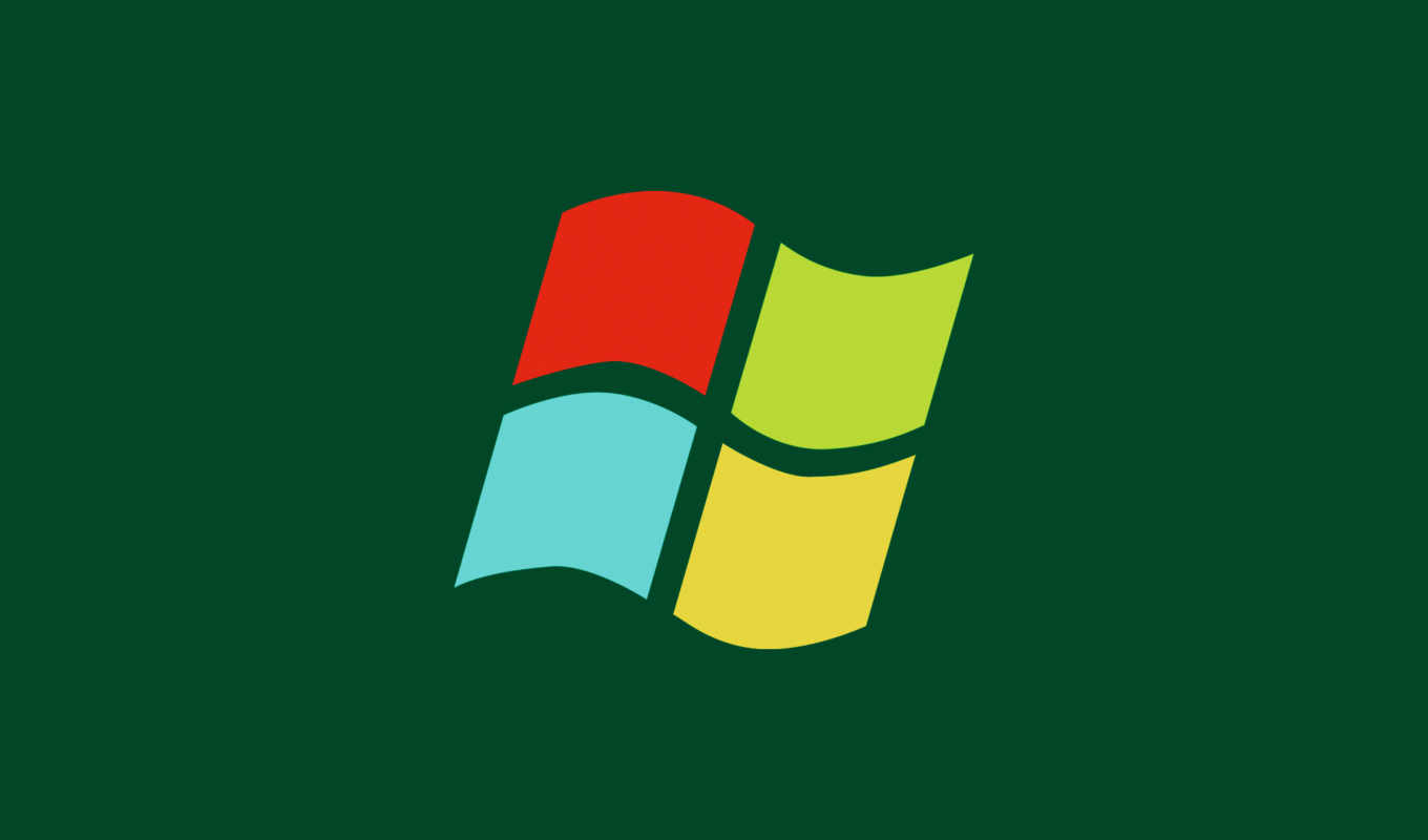 windows, logo, минимализм,
