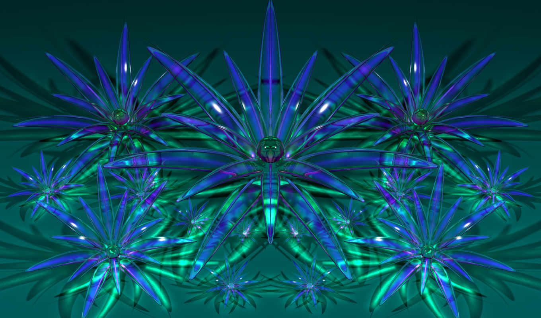 glass, desktop, flowers, цветы, blue, очки, sfondi,