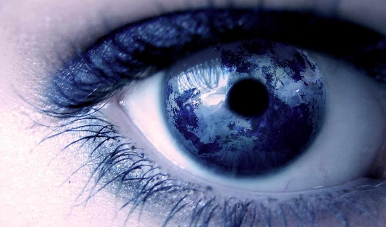 глаз, девушка,