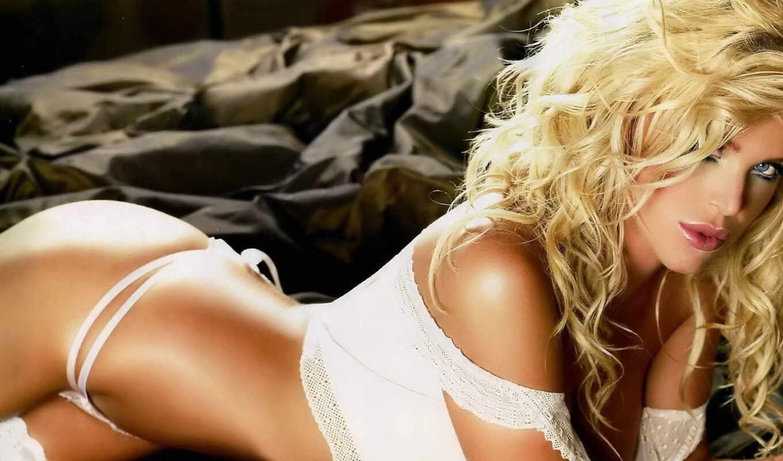 blonde, красивый