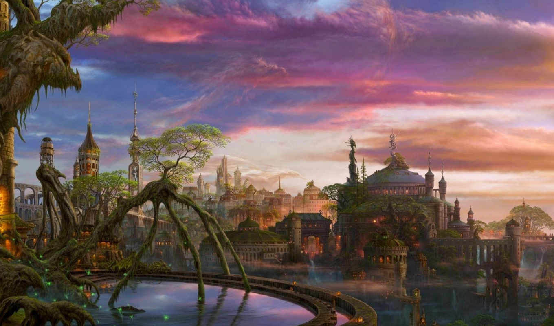 side, фэнтези, fantasy, uchio, dark, шинигами, world, иные, fantastic,
