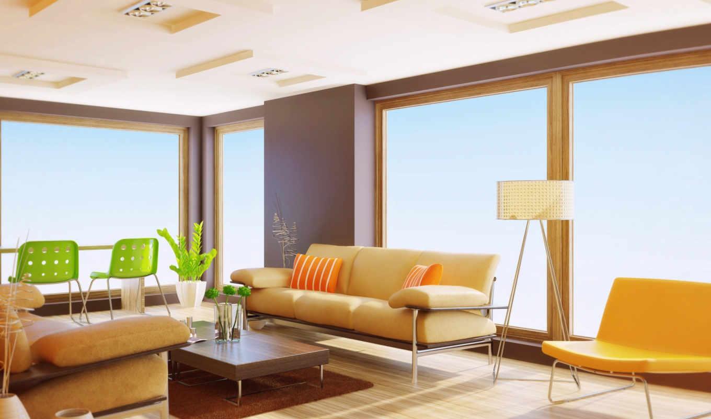 интерьер, design, мебель, диван, столик, квартира,