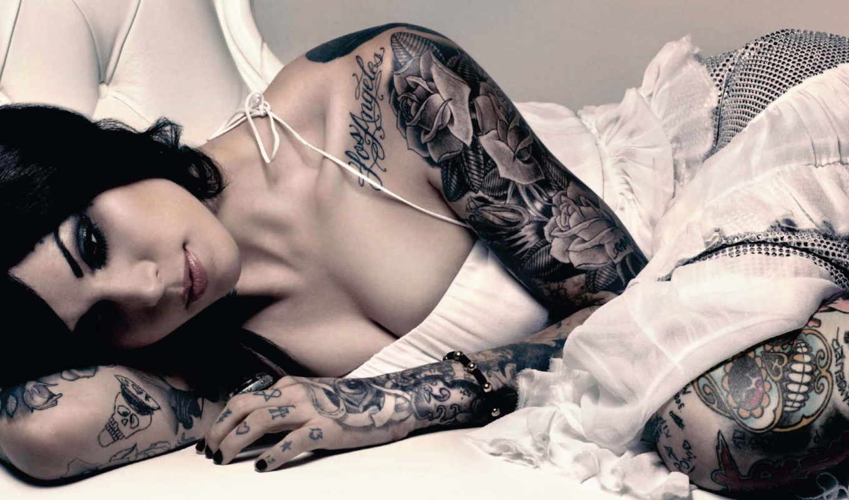 татуировка, девушка, татуировки,