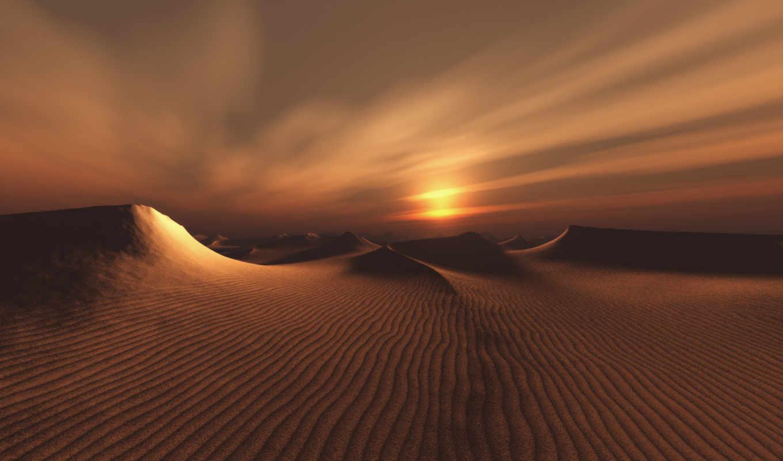 пустыня, dark, scene, this, resolution, природа, palm, infinite, песок,