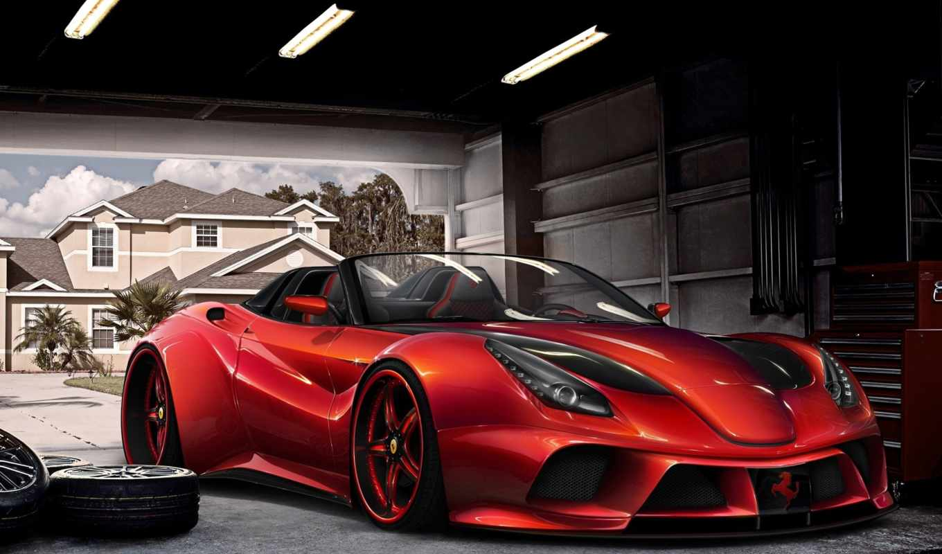тюнинг, virtual, ferrari, berlinetta, конкурс, cars, more, автомобили,