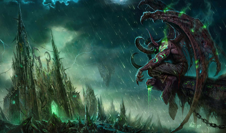 демон, демоны, world, wow, warcraft, темы, рога, крылья, tasha, dangel, иллидан,