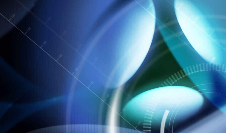 blue, фот, движение, софт, abstract